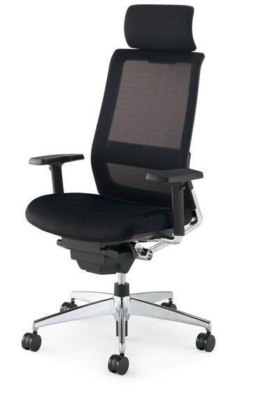 【送料無料】コクヨ<KOKUYO> Advanced Chair(次世代OAチェア) AIRFORT<エアフォート> 「エアランバーサポート搭載」 ヘッドレスト付きタイプ 可動肘 CR-GA2353□-W・V