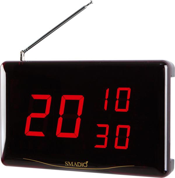 【送料無料】ニッポー(マイコール) ワイヤレスコールシステム「スマジオ」 本体表示機(消去機付) SCM-1230P ※ご使用には別途送信機が必要です。