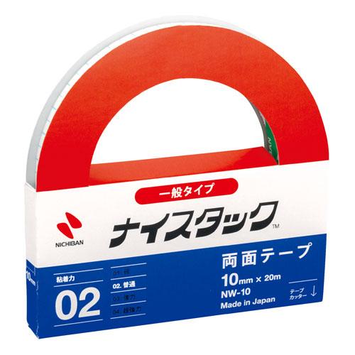品質信頼 信頼 ニチバン 新商品 メール便なら送料290円 Nichiban 大巻10mm×20m NW-10 ナイスタック