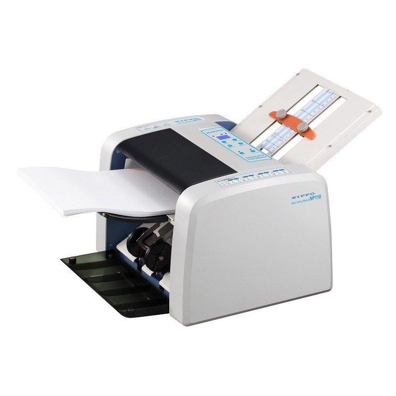 【送料無料】ニッポー<NIPPO>A4対応自動紙折り機 スタンダードタイプ 整列排紙型 NP110