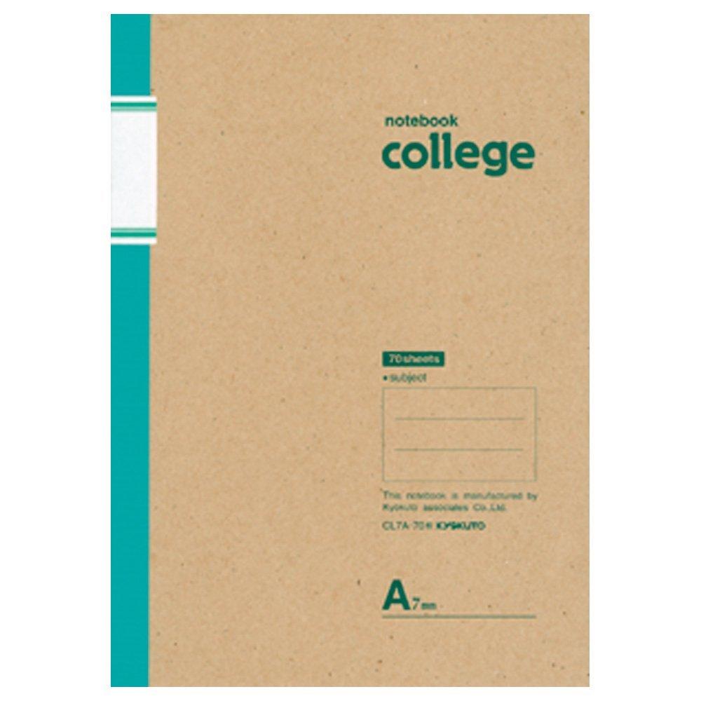 <title>カレッジシリーズノート メール便なら送料240円 倉 日本ノート キョクトウ B5 college カレッジノート 7mm罫 100枚 CL10A A罫</title>
