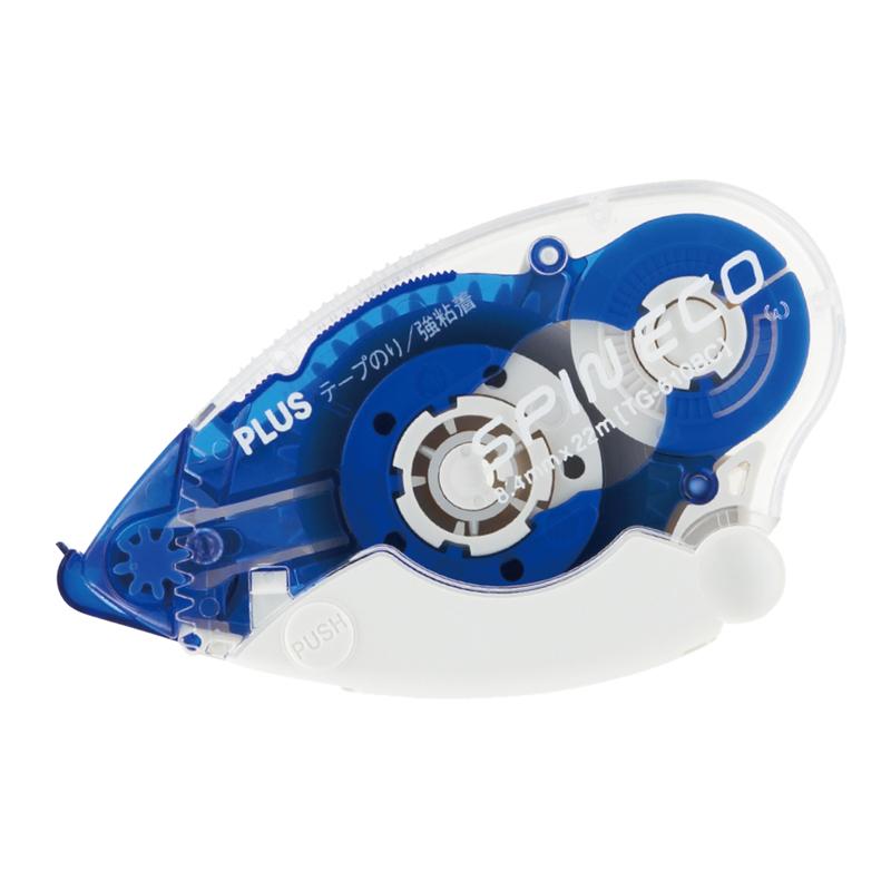 本物 プラス PLUS テープのり スピンエコ 開店記念セール 本体 TG-610BC ブルー 37-585 8.4mm幅