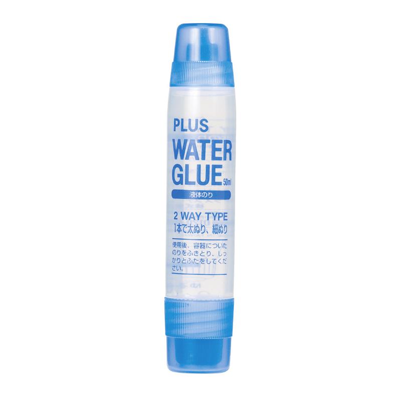 プラス(PLUS)のり 液体のり ウォーターグルー2WAY 50ml セリースパック入 NS-004S  28-994