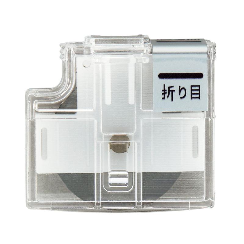 おうちハロウィンフェア 今だけポイント3倍 大特価 ~9 30 メール便なら送料290円 プラス PLUS 折り目 日本正規代理店品 26-476 ハンブンコ 専用替刃 スライドカッター PK-800H3