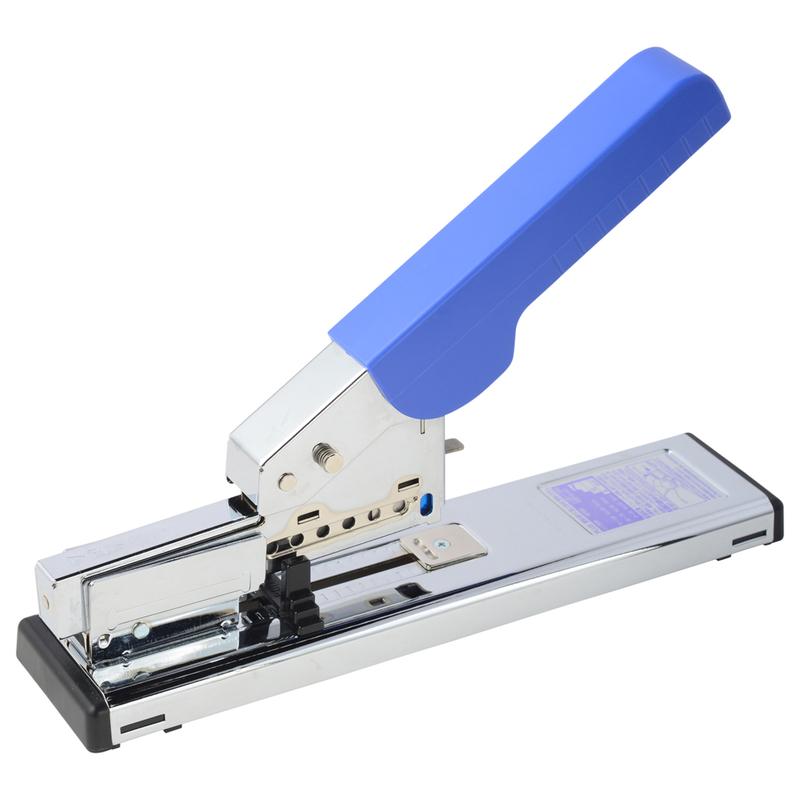 プラス 店 PLUS 返品送料無料 ホッチキス強力タイプ ST-050E 30-999 ブルー