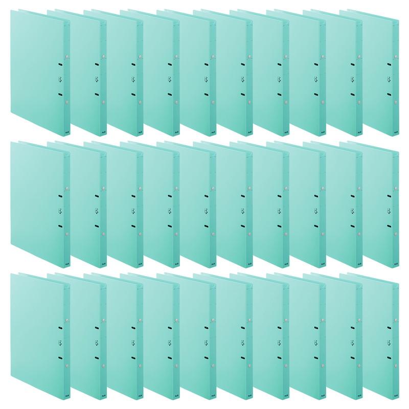 【送料無料】プラス(PLUS) 「たすけあ」ファイル 利用者カルテ リングファイル ブルー 30冊パック 98-048*30 FL-804RF