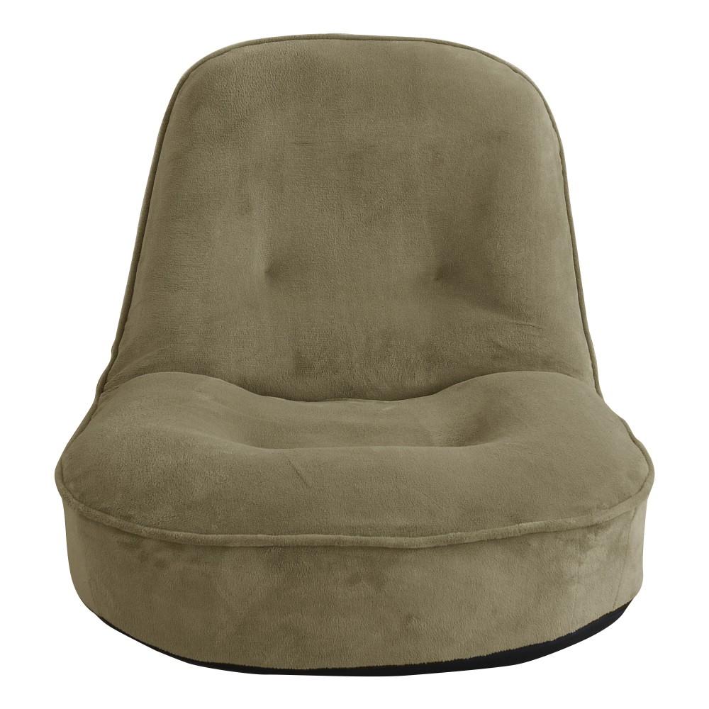 【メーカー欠品中 納期未定】【メーカー直送・送料込】関家具 1人用 座椅子 ぽむ グレー 238770