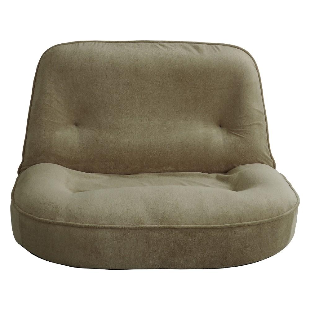 【メーカー直送・送料込】関家具 2人用 座椅子 ぽむ グレー 238773