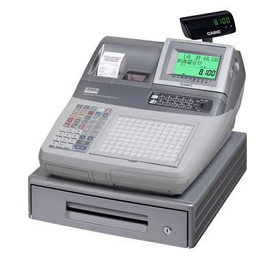 カシオ計算機 電子レジスター TK-8100-A