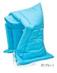 ナカバヤシ 学童用防災ずきん(防炎加工) ブルー BZ-101-B 小学生用 アルミ笛付