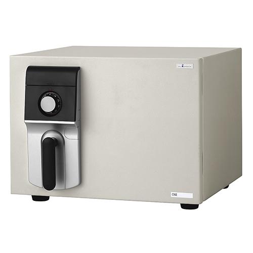 MEISTER ダイヤル式 OSS-D 幅484 奥行489 高さ372mm ホワイト エーコー 金庫 耐火金庫 ダイアル式 A4 シンプル 内臓シリンダー EK-OSS-D