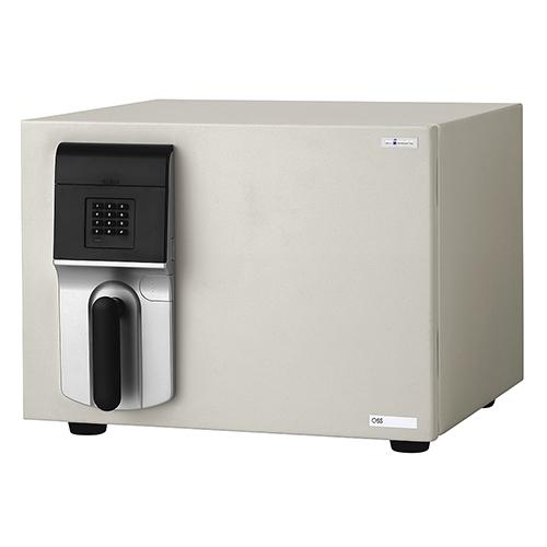 MEISTER テンキー式 OSS-E 幅484 奥行489 高さ372mm ホワイト エーコー 金庫 耐火金庫 テンキー式 A4 シンプル 内臓シリンダー EK-OSS-E