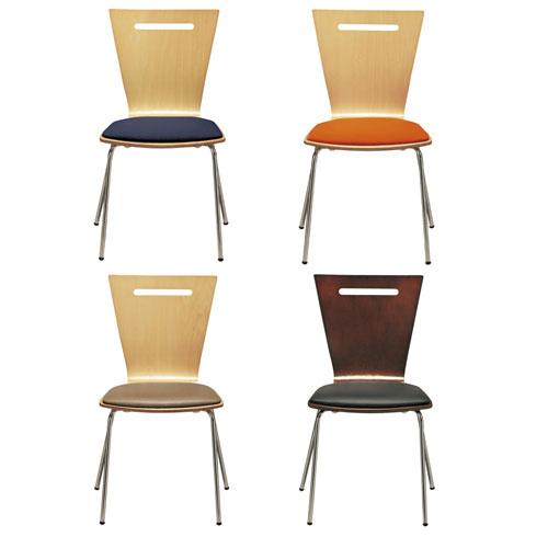 【送料無料】YPリフレッシュチェア クッション付き 4脚セット 会議チェア 会議イス ミーティングチェア イス 椅子 チェア オフィスチェア 1617604