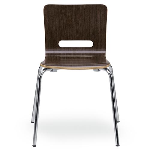 スミスチェア(イリ4) 幅555 奥行515 高さ736 座面高さ435mm ダークブラウン ナチュラル 関家具 チェア 椅子 イス いす ミーティングチェア オフィスチェア オフィス SK-229230 SK-229235
