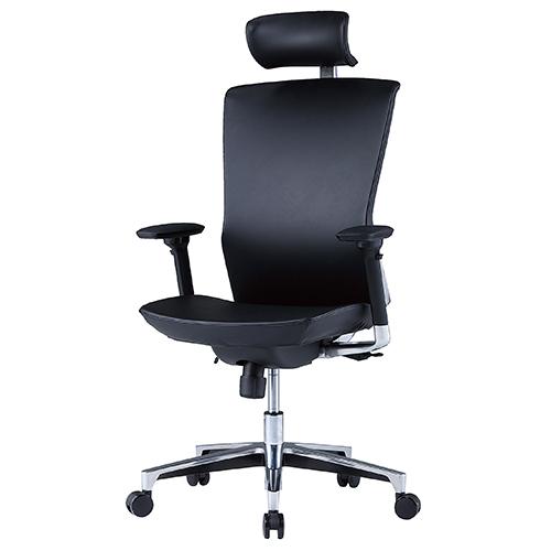 MATシリーズ マネージメントチェア(上下可動肘付) 井上金庫 MAT-35 幅682 奥行743 高さ1210-1300(座面高さ425-515) 社長椅子 役員椅子 パソコンチェア デスクチェア オフィスチェア 会議室 椅子 いす ヘッドレスト