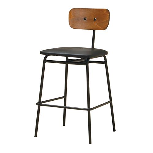 エヴァンス ハイチェア 幅1400×奥行700×高さ700mm  KOEKI 椅子 イス リビングチェア カウンターチェア キッチンチェア KE-EVS-CV2
