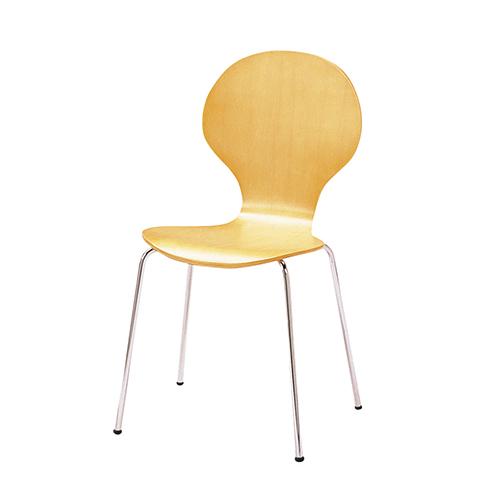【送料無料】スタッキングホームチェア 4脚セット ナチュラル ホワイトデスク イス 椅子 チェア シンプル モダン ナチュラル リビング カフェ 北欧 インテリア KE-SC-1