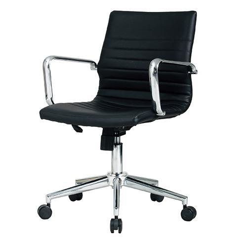 【送料無料】オフィスチェア PLCシリーズ02 ブラック 高級 イス 椅子 オフィス家具 インテリア KE-PLC-02