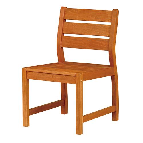 バラウチェア 幅500×奥行560×高さ850mm×座面高425mm ナチュラル KOEKI ガーデン 庭 椅子 イス チェア ガーデニング 屋外用 エントランス 木製 天然木 公園 施設 エクステリア ウッド KE-MBA-50C 当店人気商品