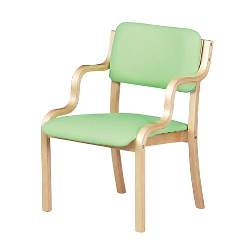 ダイニングチェア 幅535×奥行580×高さ770×座面高さ415mm グリーン ピンク 弘益 スタッキングチェア 椅子 イス KE-WC-560P