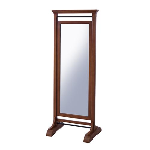 ロブ ミラー 幅610 奥行450 高さ1600mm ブラウン 東谷 姿見 全身鏡 鏡 全身 姿見鏡 木製 木製スタンドミラー スタンドミラー AY-GUY-654