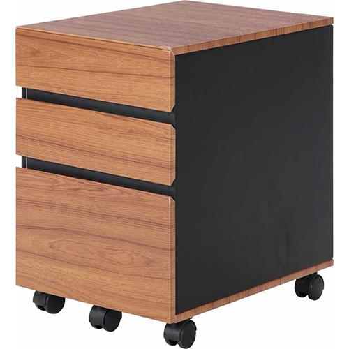 スマートシリーズ インキャビネット 幅400 奥行540 高さ595mm ブラウン 不二貿易 キャビネット チェスト シンプル 木製 木 ウッド 北欧 FB-94898