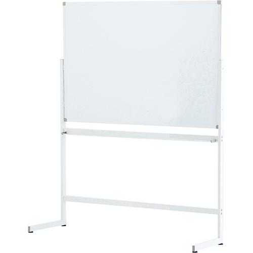 ホワイトボード1200×900 片面 L字脚 幅1262×奥行430×高さ1711mm RFヤマカワ ホワイトボード マグネットボード RF-SHWB-1290ASWHLL
