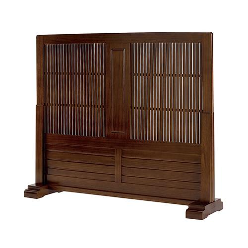 【送料無料】和風衝立 パーティション 間仕切リ 目隠し 天然木 木製 和室 KE-JP-T1200