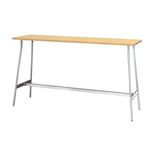 【送料無料】リフレッシュ テーブル カウンター型【横幅1800mm/奥行450mm/高さ1000mm】(ペールアンダー)