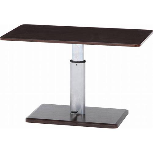 昇降テーブル 幅900 奥行500 高さ430-570mm ブラウン 不二貿易 テーブル ローテーブル センターテーブル 昇降 北欧 伸縮FB-10497