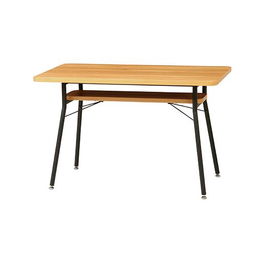 ケティル ダイニングテーブル 幅1100 奥行600 高さ680mm 弘益 リビングテーブル センターテーブル KE-KTL-DT110