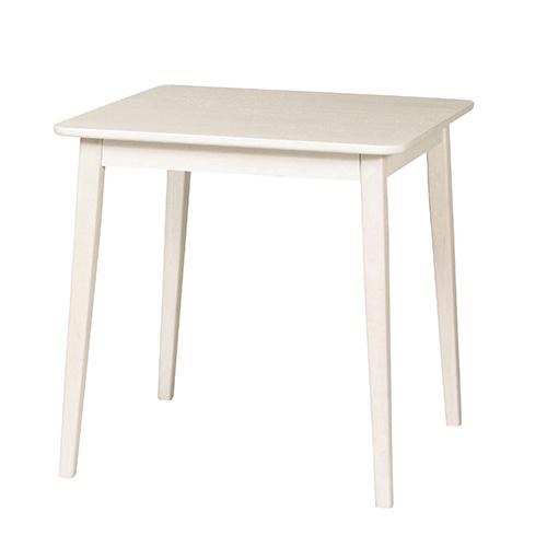【送料無料】ミニヨン ダイニングテーブル ホワイト カントリー アンティーク かわいい 一人暮らし 女性 KE-MIGNON-DT70-WH