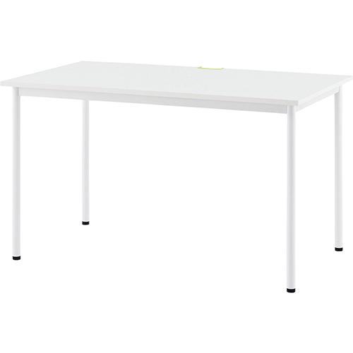 SHシンプルテーブルW1200×D700 幅1200×奥行700×高さ700mm ホワイト ナチュラル RFヤマカワ 会議テーブル オフィステーブル ミーティングテーブル 机 RF-Z-SHST-1270