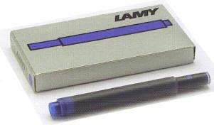 メール便対応商品 LAMY ラミー カートリッジインク 直営限定アウトレット 人気ブランド多数対象 5本入 LT10 500