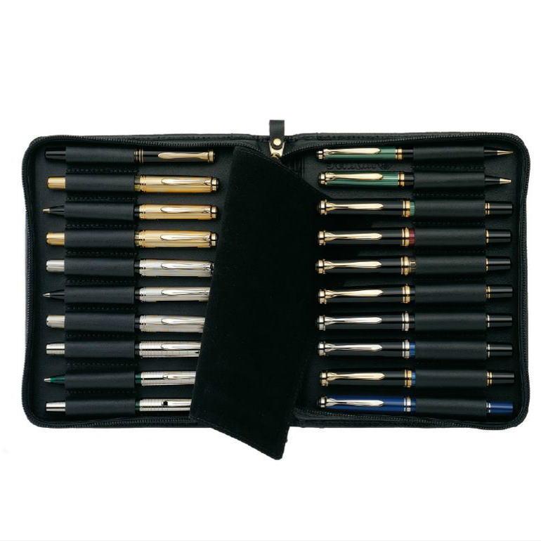 Pelikan(ペリカン) レザーケース 20本用 TGX-20 (25000)  *ペンは別売りです。