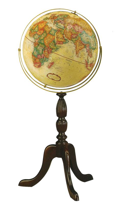 リプルーグル地球儀 ワールドクラシック・シリーズ ケンブリッジ型(英語版)  (95000)