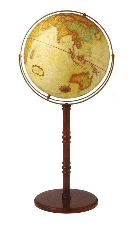 リプルーグル地球儀 ワールドクラシック・シリーズ コモドールII型(英語版)  (50000)