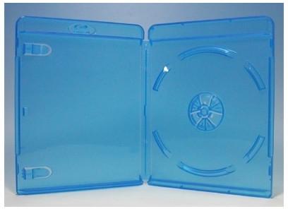 ブルーレイディスクケース 1枚収納 1000枚 Blu-rayロゴあり (ブルーレイケース Blu-rayケース (100枚x10))【4500円以上で送料無料】