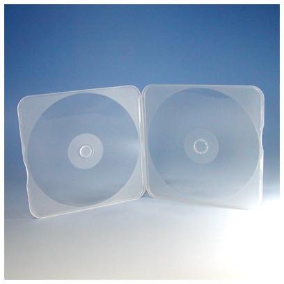 PPケース 1枚収納 5mm スリム 400枚 メールケース (200枚x2) BD DVD CD 収納