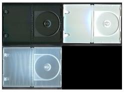 DVD トールケース 1枚収納 14mm (日本製 高品質) 400枚 (100枚x4) BD DVD CD 収納