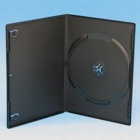 DVD トールケース 1枚収納 7mm (スリム) 1000枚 (100枚x10) BD DVD CD 収納