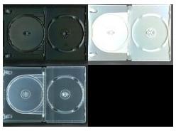 DVD トールケース DVDケース 2枚収納 14mm (Mロック) 1000枚 (100枚x10) BD DVD CD 収納
