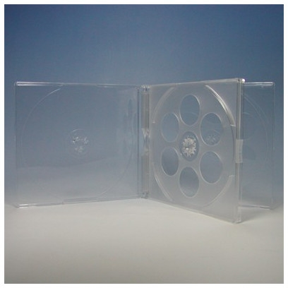 CDケース 4枚収納 10mm 200枚 (200枚x1) BD DVD CD 収納