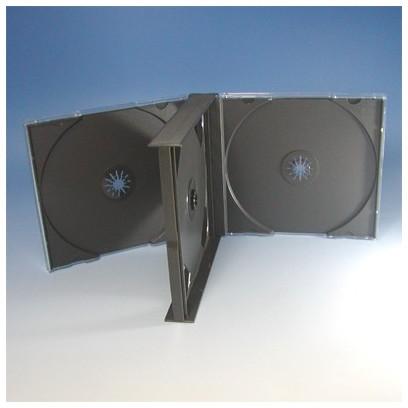 CDトールケース 4枚収納 24mm 100枚 (100枚x1) BD DVD CD 収納