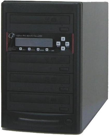 ブルーレイデュプリケーター ハイエンドモデル(業務用) ビジネスPRO 1:3 高性能 PIONEER製ドライブ搭載 BD DVD CDコピー機 日本語漢字表示
