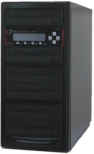 ブルーレイデュプリケーター ハイエンドモデル(業務用) ビジネスPRO 1:5 高性能 PIONEER製ドライブ搭載 BD DVD CDコピー機 日本語漢字表示