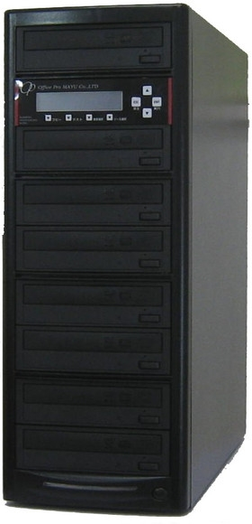 ブルーレイデュプリケーター ハイエンドモデル(業務用) ビジネスPRO 1:7 高性能 PIONEER製ドライブ搭載 BD DVD CDコピー機 日本語漢字表示