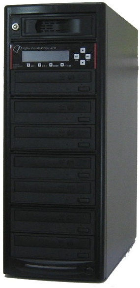 ブルーレイデュプリケーター ハイエンドモデル(業務用) HDD搭載 ビジネスPRO 1:7 高性能 PIONEER製ドライブ搭載 BD DVD CDコピー機 日本語漢字表示
