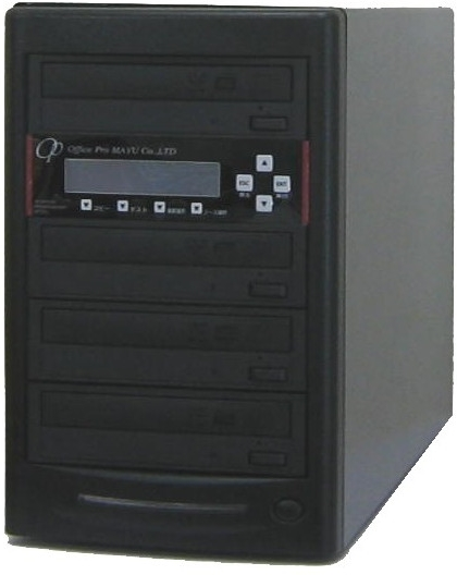 DVDデュプリケーター ハイエンドモデル(業務用)ビジネスPRO 1:3 デュプリケーター専用マルチドライブ搭載 DVD/CDコピー機