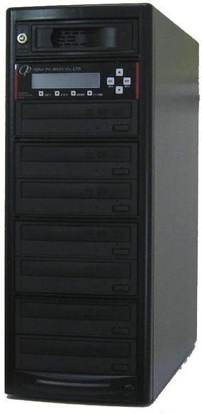 DVDコピーガード DVDデュプリケーター HDD搭載 ビジネスPRO Vガード 1:7 デュプリケーター専用マルチドライブ搭載